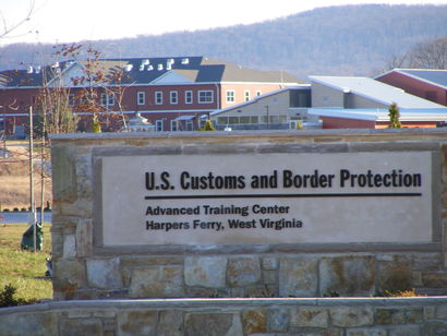 Journal photo by Mary Stortstrom The U.S. Customs and Border Protection Advanced Training Center's current facility in Harpers Ferry. A contract has been awarded for the construction of 250-room student dormitories and a student center.