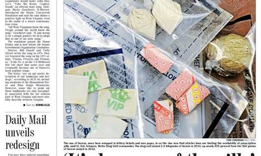 Charleston Daily Mail unveils newspaper redesign