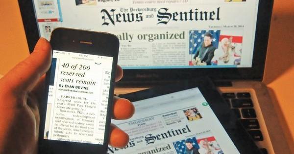 Parkersburg newspaper expands digital access