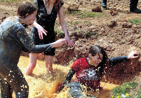 For 36th year, Bluefield students wallow in mud
