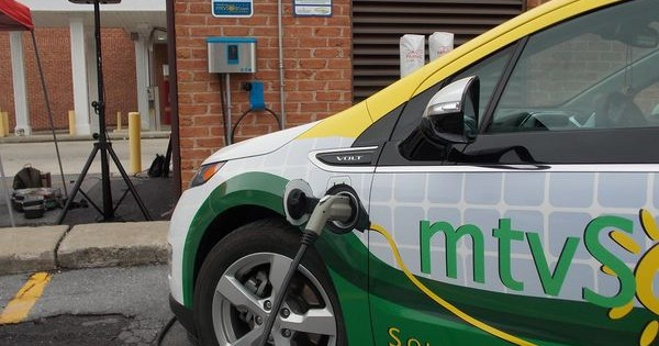 Car-charging station dedicated in Martinsburg