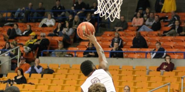 Mountain East basketball tournament photos – Wheeling Jesuit 73, Concord 70