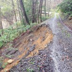 Editor's driveway one of latest mudslide sites