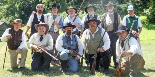Hatfield-McCoy conflict re-enacted at farm museum