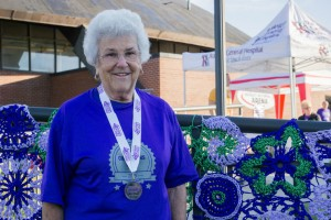 2015 Beckley Oak Hill Walk to End Alzheimer's Grand Champion: Margot Basham