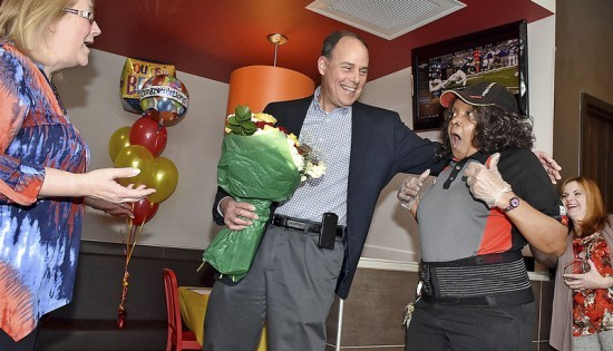"""Beckley woman crowned """"Crew Person of the Year"""""""