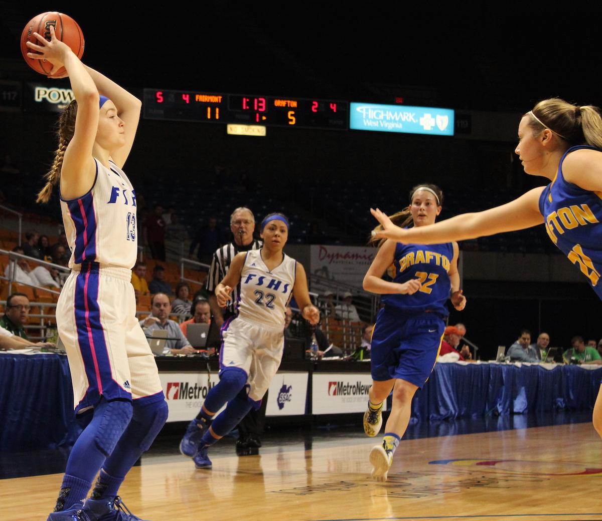 Girls State Basketball Tournament - Fairmont Senior vs ...