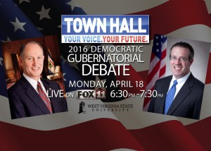 Kessler, Goodwin debate at West Virginia State University set for tonight at 6:30 p.m.