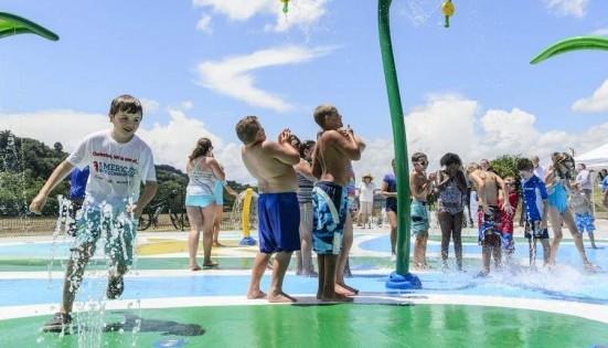 Charleston's Magic Island splash pad finally opens