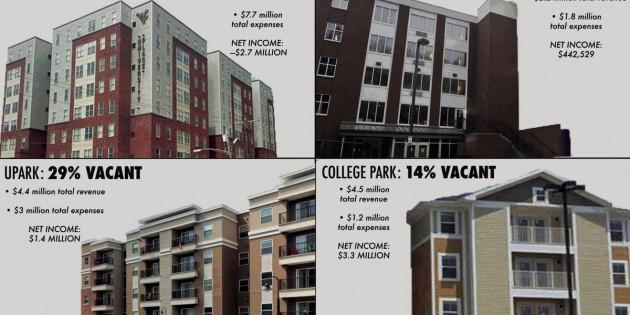WVU's student housing vacancies spark concern