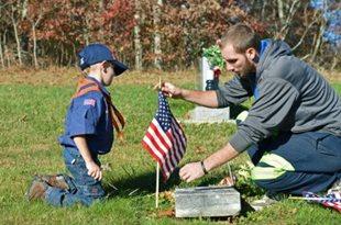 Preston County Cub Scouts honor veterans