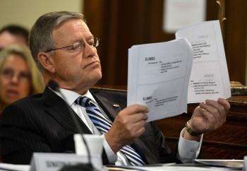Gaunch yields WV Senate presidency to Carmichael