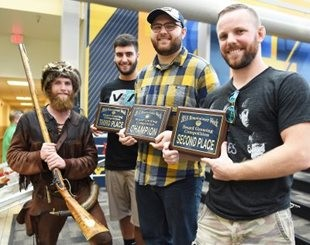 WVU crowns beard-growing champion