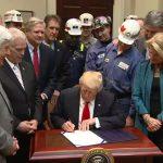 Trump signs bill repealing Obama-era Stream Protection Rule