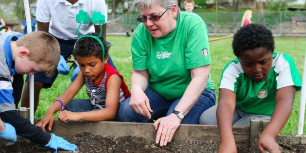 Boys and Girls Club of Huntington celebrates Earth Day