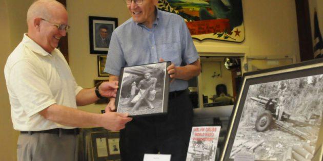 Photo exhibit shares wartime memories of Mel Grubb