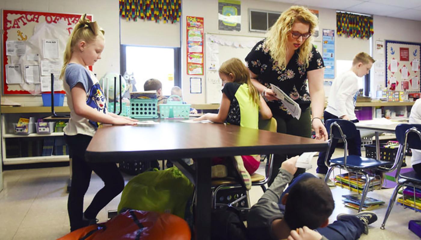 Second Year Teacher Challenges West Virginia State