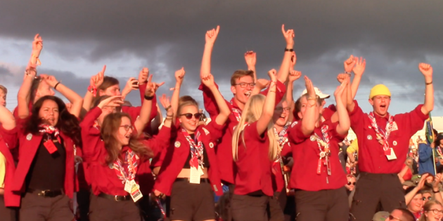 See World Scout Jamboree video, photos from the Register-Herald of Beckley, W.Va.