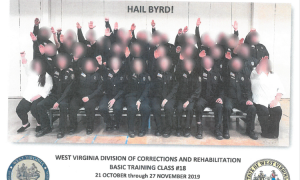 W.Va. employees suspended after photo emerges of correctional officers' Nazi salute